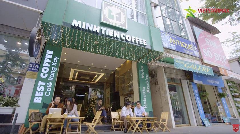 Chỉnh sửa phim doanh nghiệp Cafe minh Tiến