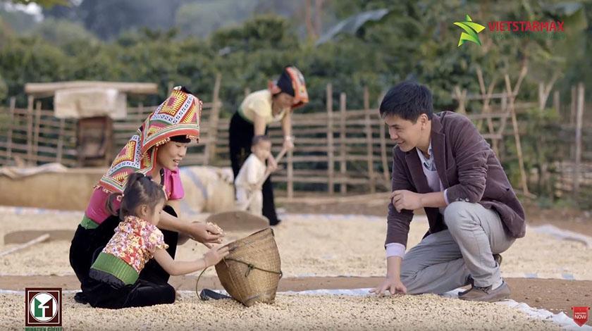 Hình ảnh phim doanh nghiệp Cafe Minh Tiến