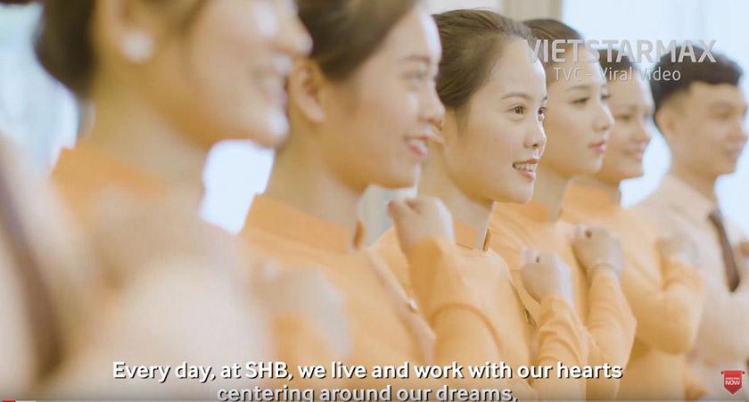 nhân viên trong phim doanh nghiệp SHB