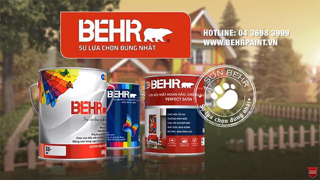 TVc quảng cáo sơn Behr